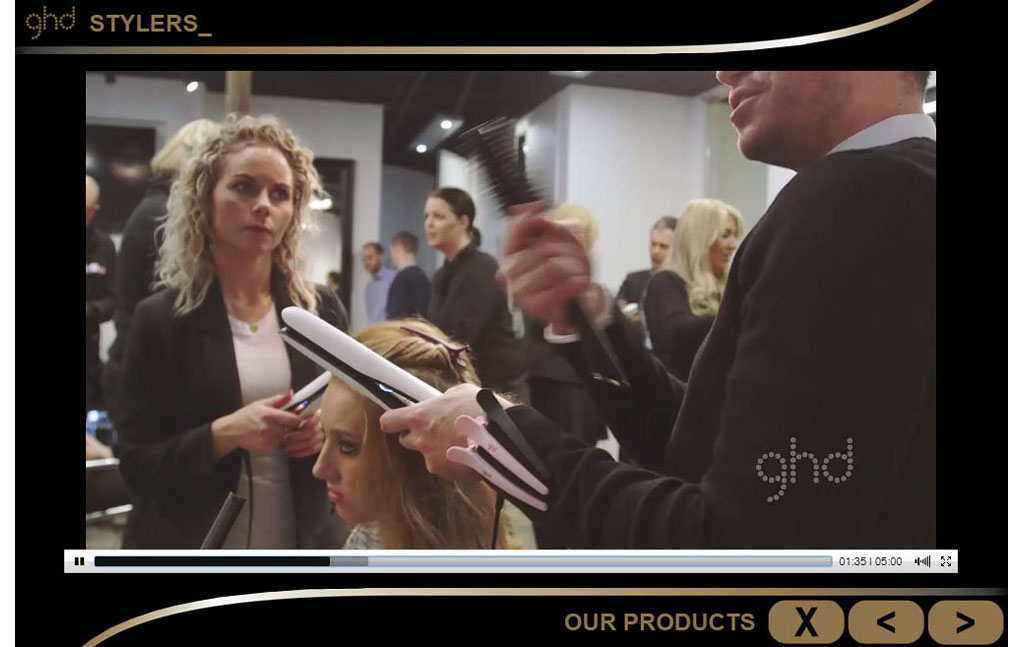 corporate training video for GHD