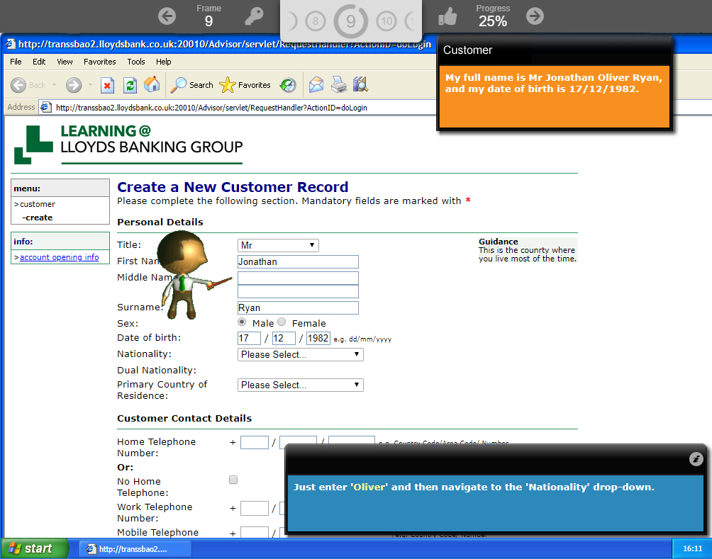 Corporate elearning for finance training