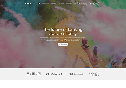 Atom Bank for mobile-only banking