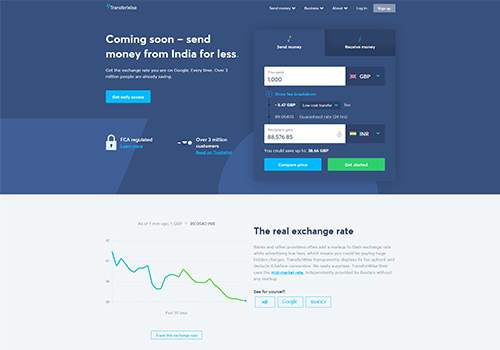 TransferWise for global money transfers