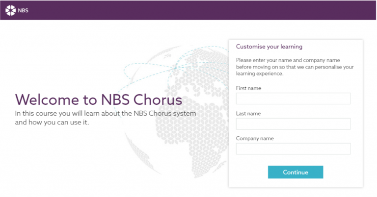 nbs elearning login